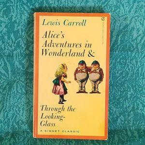 VTG 60s Alice's Adventures in Wonderland